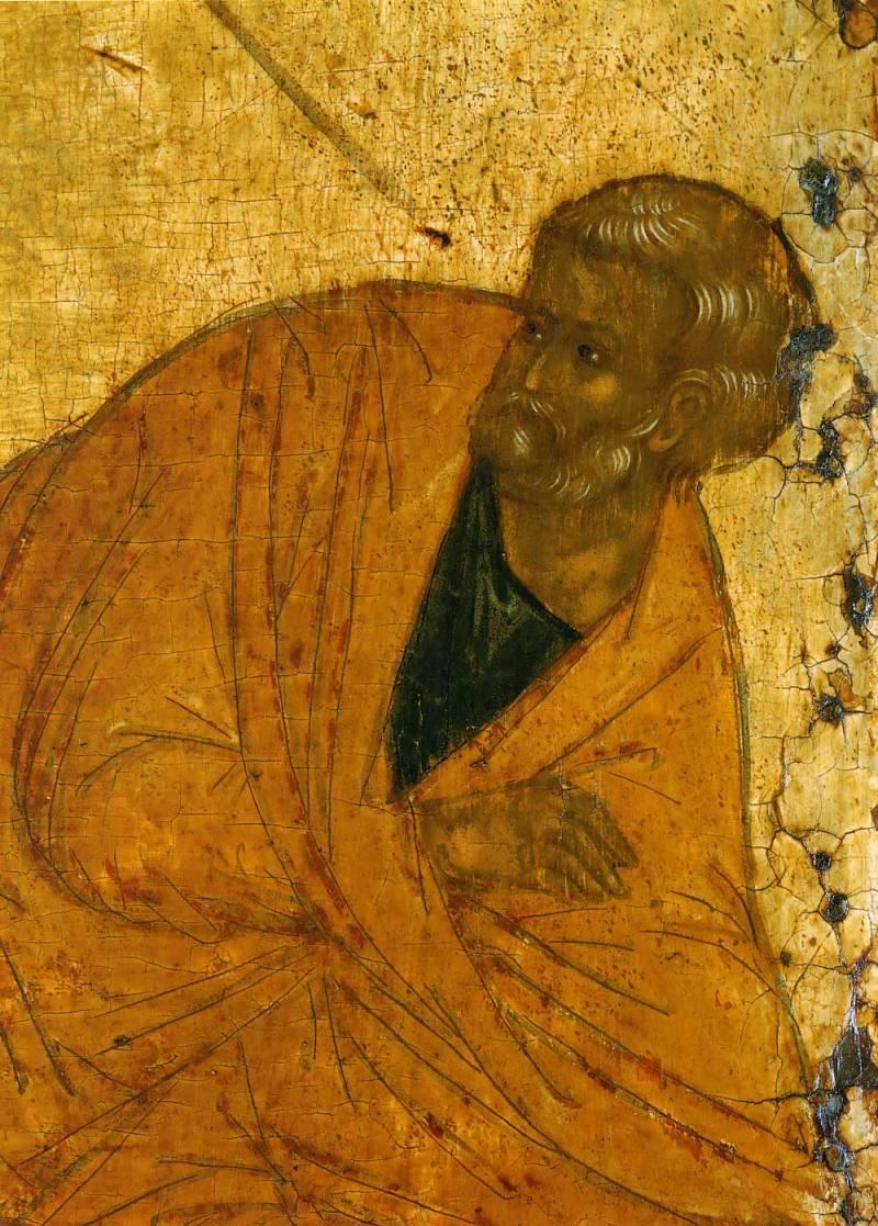 Полуфигура апостола Петра