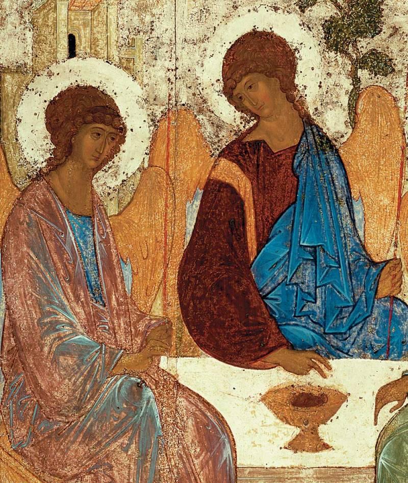 Левый и средний ангелы