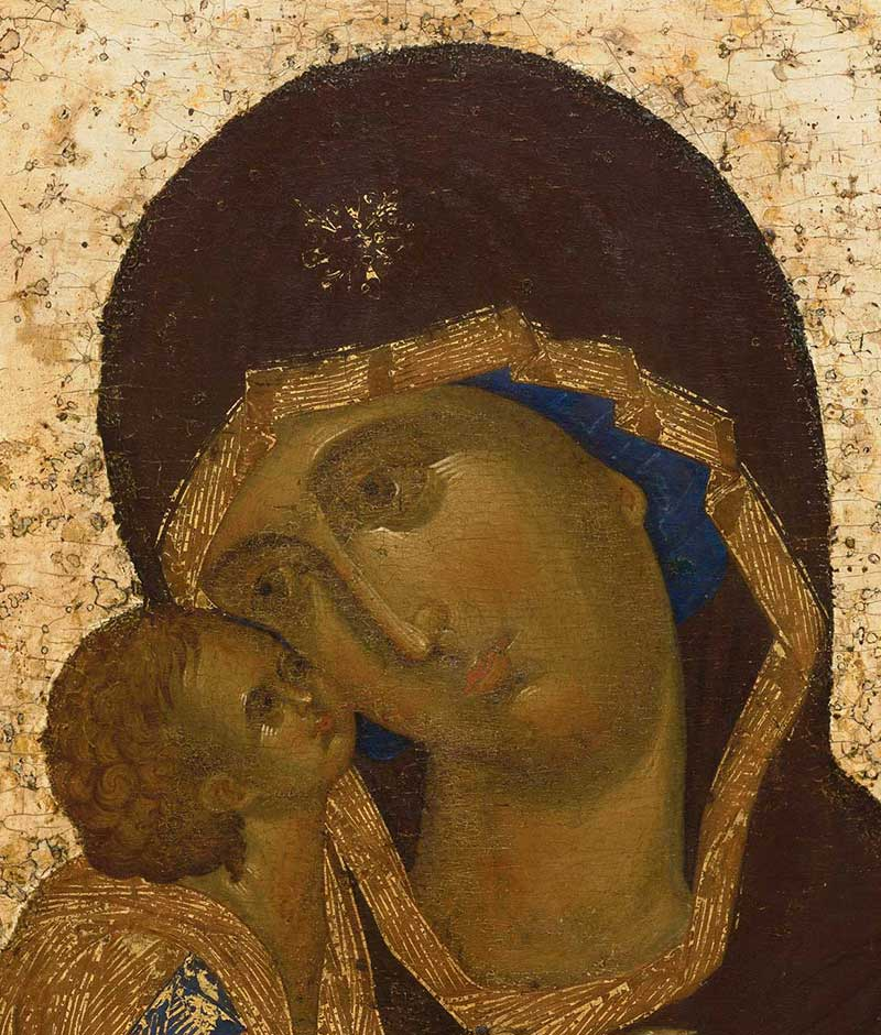 The Head of the Virgin