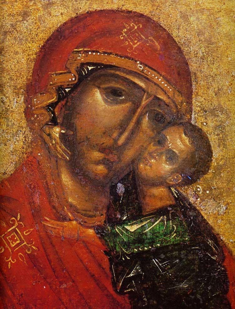 Лики Богоматери и Младенца