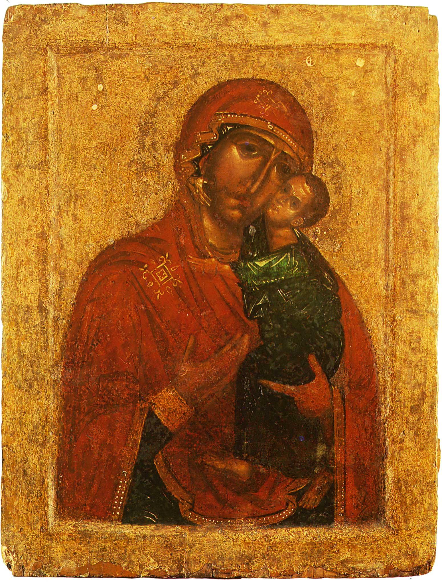 Малая икона Толгской Богоматери