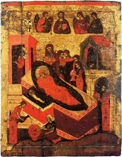 Mariä Geburt mit den erwählten Heiligen