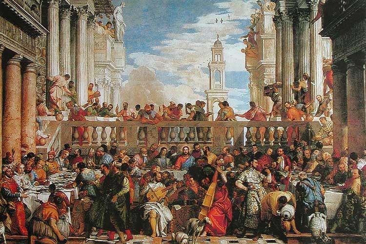 брак в кане галилейской 15621563 гг