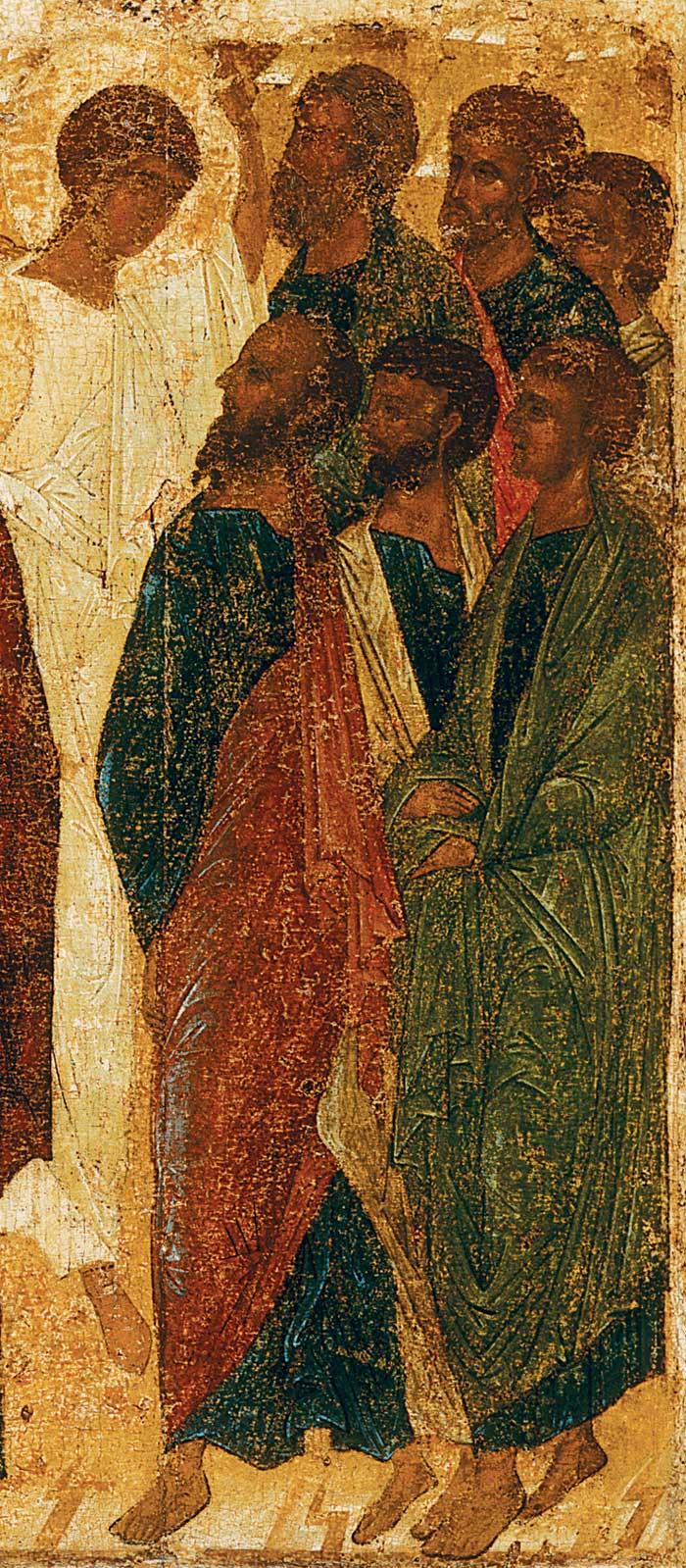 Апостолы и ангел