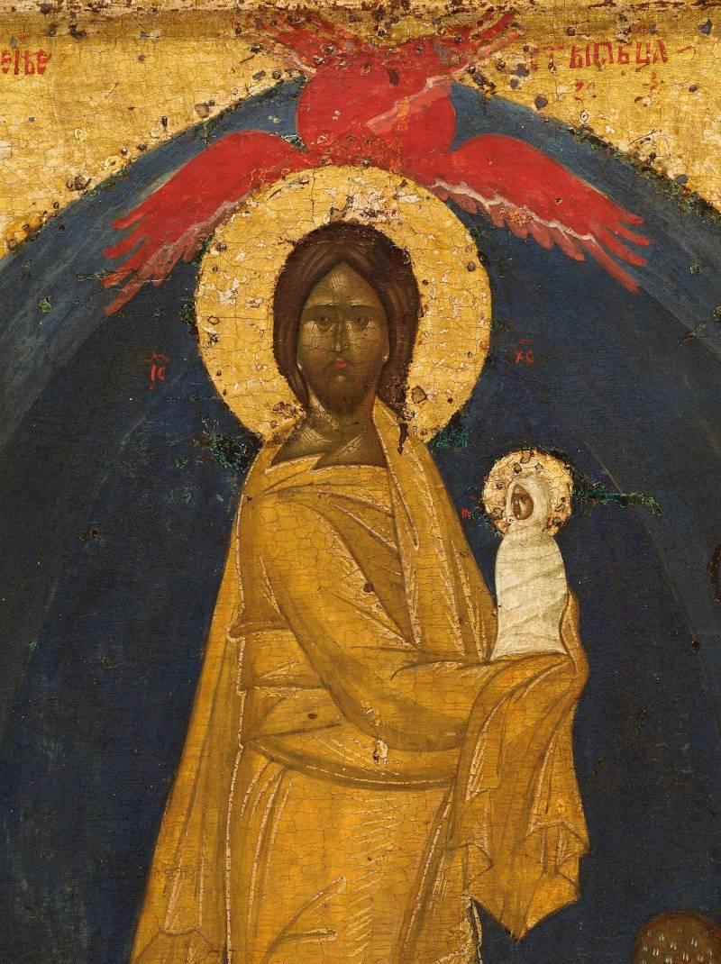 Christus mit der Seele der Maria
