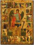 The Archangel Michael with Scenes from His Deeds