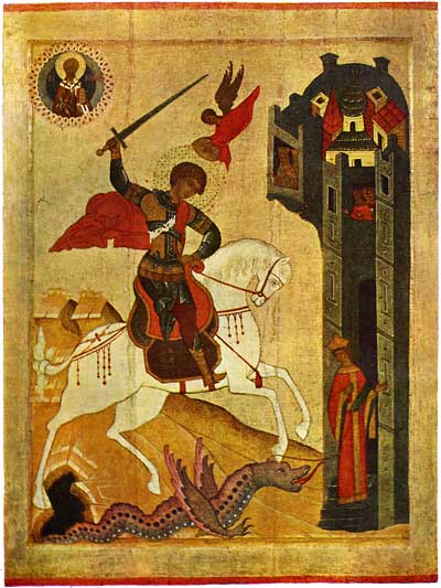 St George and the Dragon