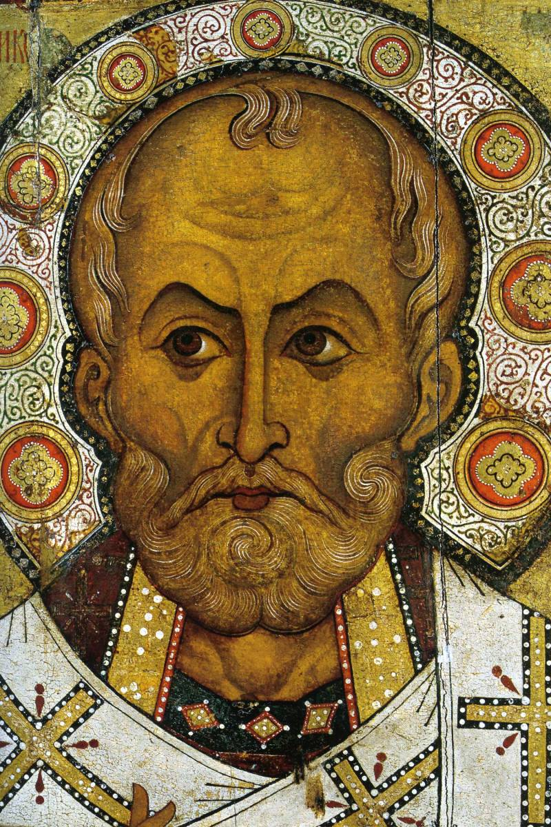 Лик святителя Николая