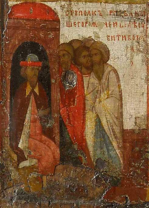 Святополк посылает убийц к Борису