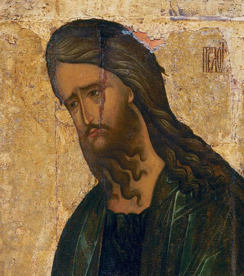 Лик Иоанна Предтечи