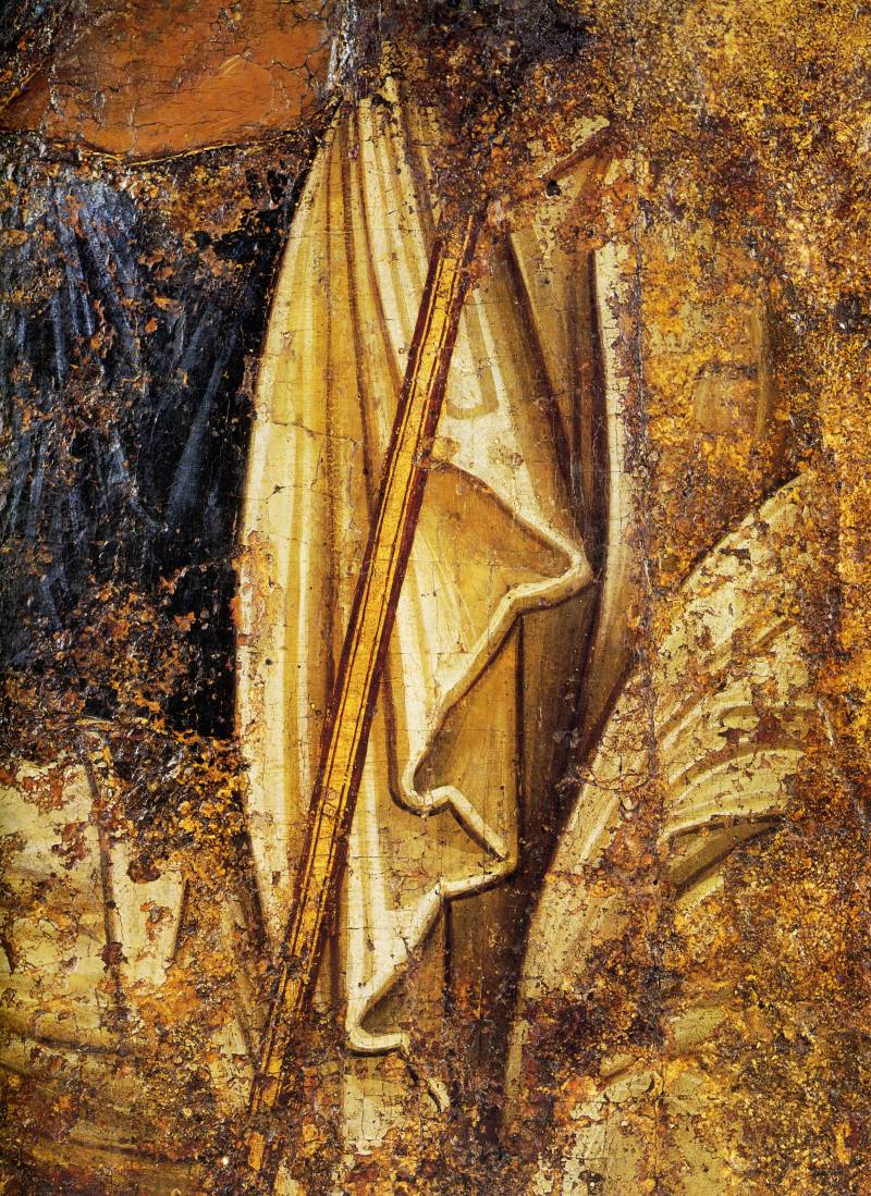 Фрагмент одеяния апостола Петра