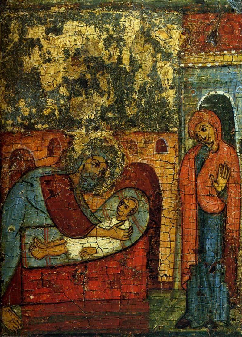 Илия воскрешает сына вдовицы