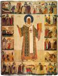 The Metropolitan Peter with Scenes from His Life