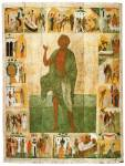 Andrew the Fool-For-Christ, with Scenes from His Life
