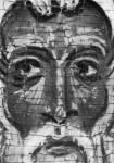 [Илл. с. 39] Власий. Деталь иконы «Иоанн Лествичник, Георгий и Власий». Вторая половина XIII в. ГРМ (кат. № 2). Увеличено
