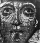 [Илл. с. 41] Георгий. Деталь иконы «Иоанн Лествичник, Георгий и Власий». Вторая половина XIII в. ГРМ. (кат. № 2). Увеличено