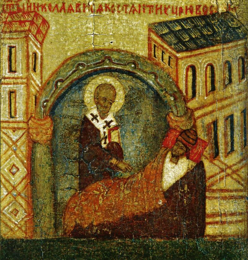 Явление во сне царю Константину