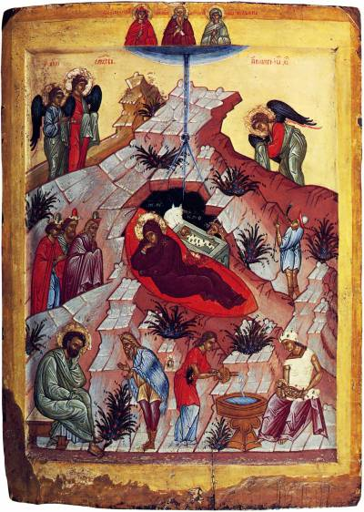 Рождество Христово с избранными святыми