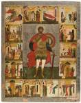 St Theodore Stratilates with Scenes from His Life