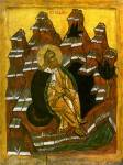 Elias der Prophet in der Wüste