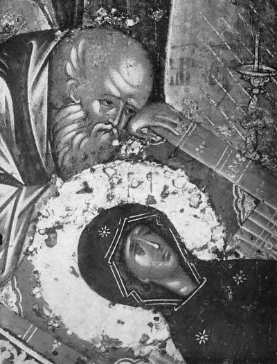 Апостол у изголовья Богоматери