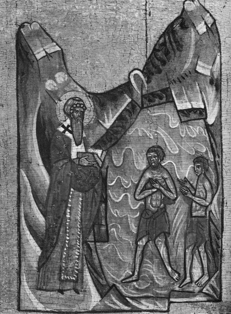 Ипатий крестит язычников
