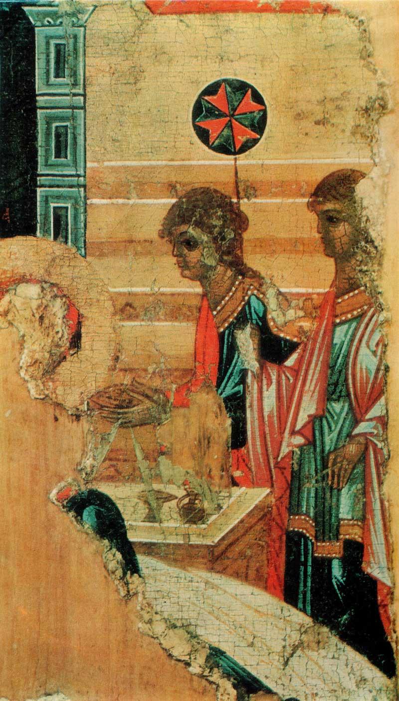 Служанки у ложа святой Анны