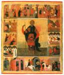 Великомученик Мина с клеймами жития