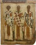 Святители Климент, папа Римский, Власий Севастийский и Иаков Иерусалимский