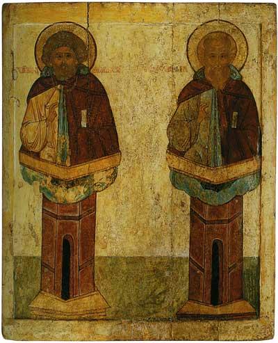 Симеон Столпник и Даниил Столпник