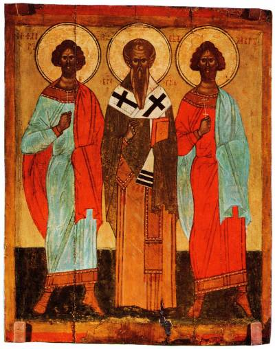 Erwählte Heilige: Florus, Jakob und Laurus