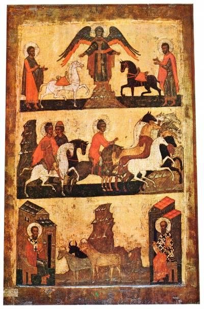 Florus, Laurus, Blasius und Modestus