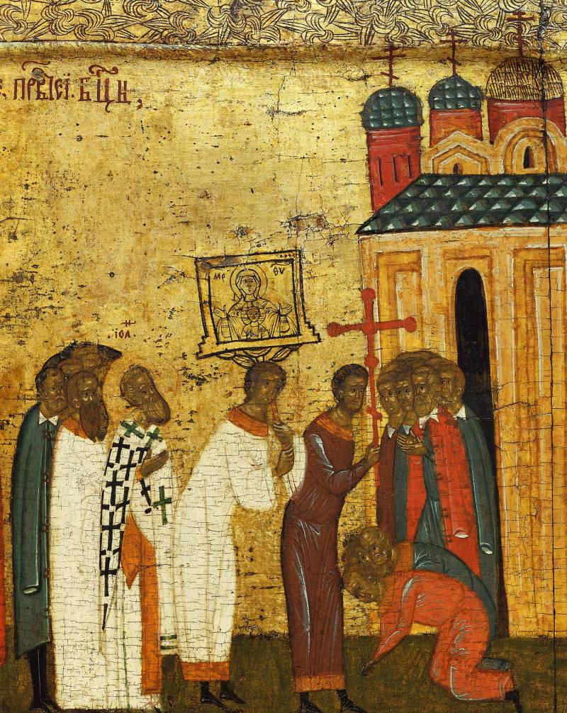 Встреча иконы Богоматери «Знамение»