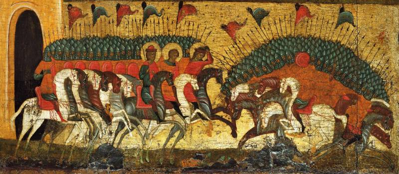 Битва новгородского и суздальского войск