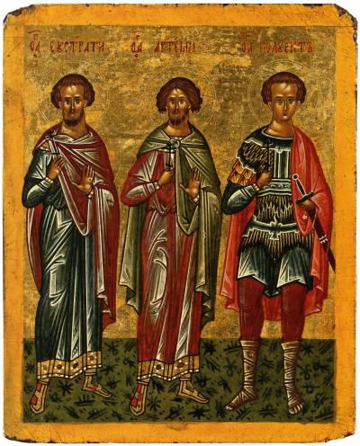 Eustratios, Artemius, Polyeuktos