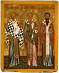Nicholas the Wonderworker, John the Merciful, Basil the Confessor