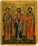 Prokopius, Nikita und Eustathius