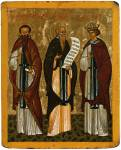 SS Athanasius of Athos, Barlaam the Wilderness-Dweller and Joasaph the Prince of India