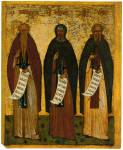 Euthymius the Great, Anthony the Great and Sava the Sanctified