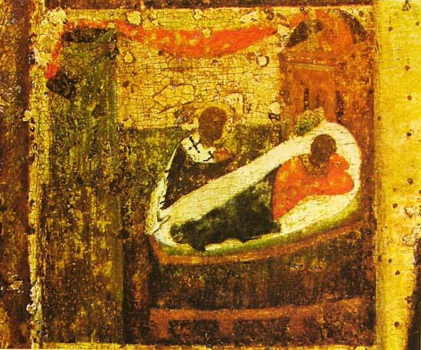 Явление во сне епарху Евлавию