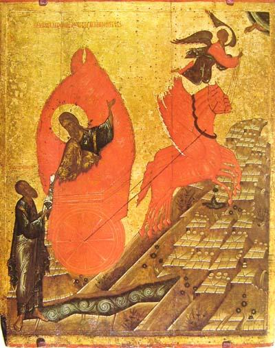 Feurige Himmelfahrt des Elias