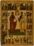 Петр и Павел с житием