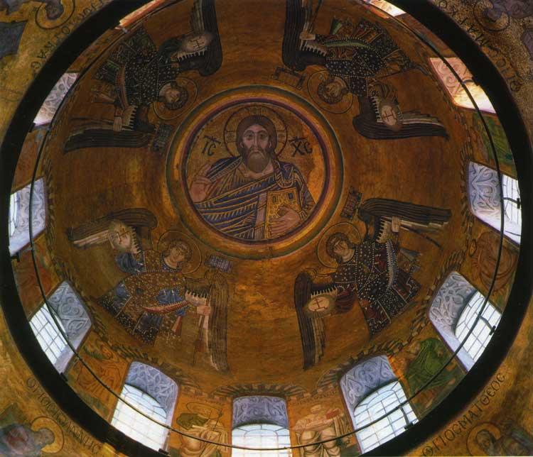 Christus Pantokrator mit den Erzengeln