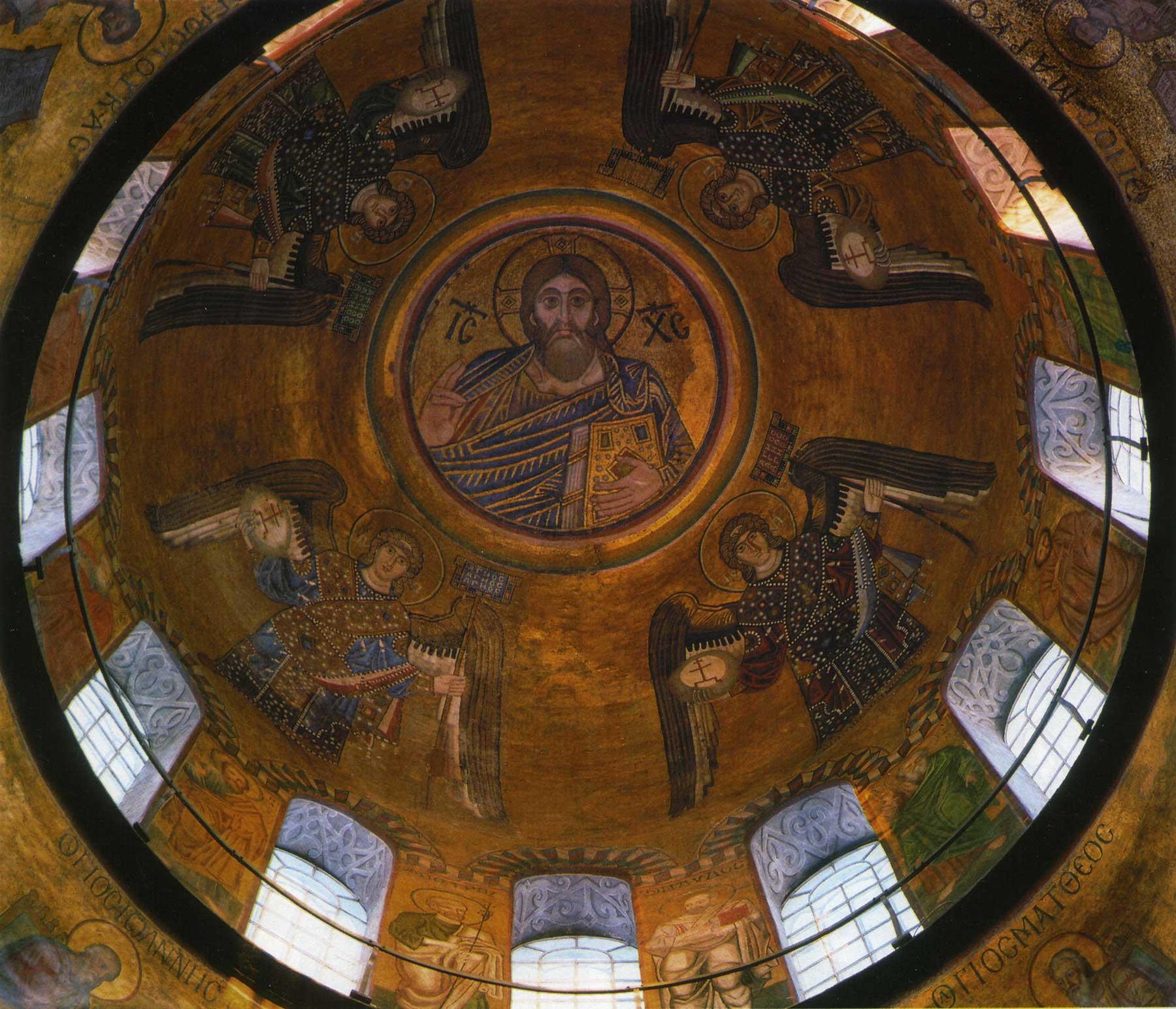 Christ Pantocrator with Archangels
