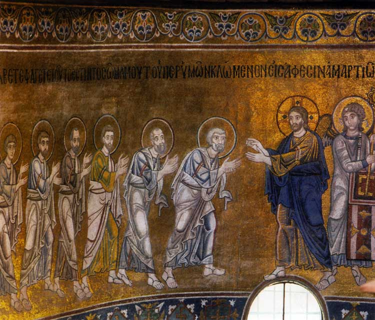 The Communion of the Apostles with the Bread