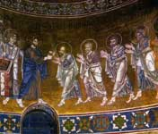 Преподание апостолам вина