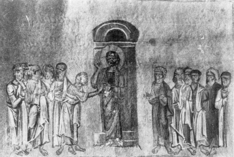 Уверение Фомы - Гелатское Евангелие [Q 908], л. 246