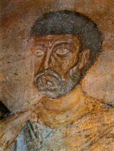 Das Antlitz des Apostels Petrus