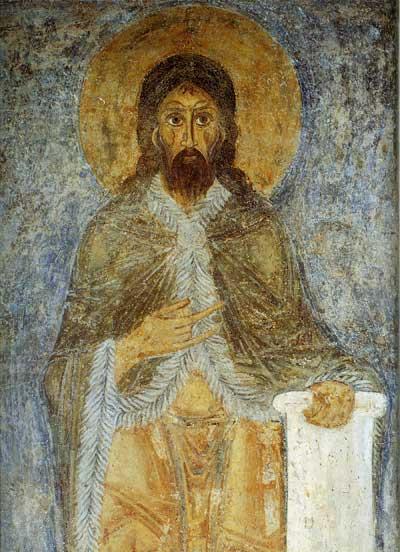 Иоанн Креститель / Илия Пророк(?)