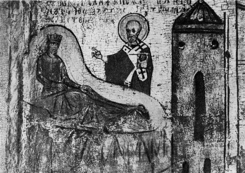 Явление царю Константину во сне